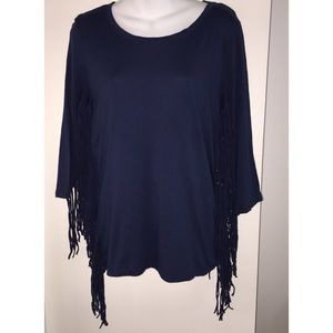 Cha Cha Vente Frilly Western Top